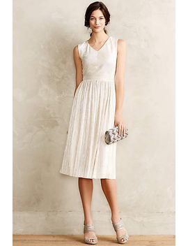 pleated-eclat-dress by anthropologie