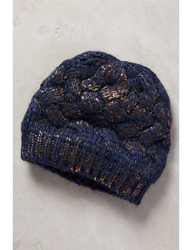 glinted-beanie by anthropologie
