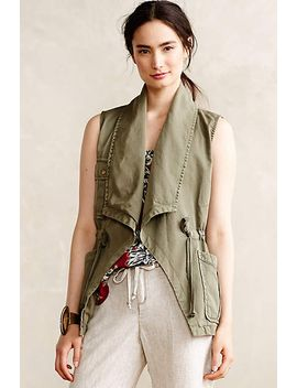 draped-anorak-vest by anthropologie