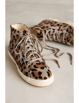 superga-ponyhair-high-top-sneakers by anthropologie