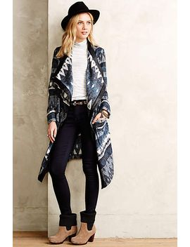 ikat-blanket-coat by anthropologie