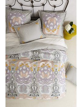 safia-embroidered-duvet by anthropologie