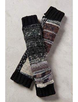 metallic-fingerless-gloves by anthropologie