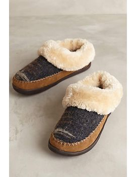 woolrich-dove-creek-slippers by anthropologie
