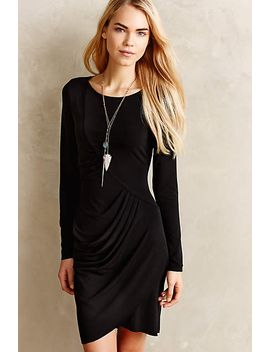 slope-draped-dress by anthropologie