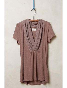 crossed-cowl-tee by anthropologie