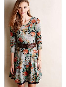 terry-floral-fit-&-flare-dress by saturday_sunday