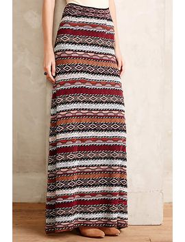 patchstripe-maxi-skirt by cecilia-prado