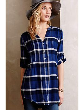 pintucked-flannel-tunic by holding-horses