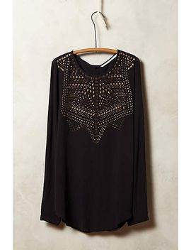 zodiaque-peasant-top by anthropologie