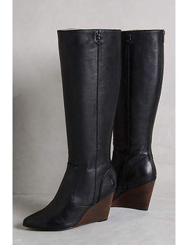 frye-regina-wedge-tall-boots by frye