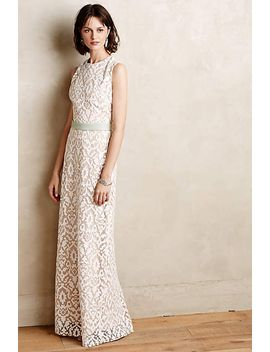 baroque-lace-column-gown by korovilas