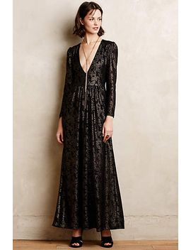 selene-lace-maxi-dress by anthropologie