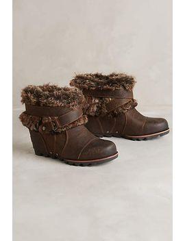 sorel-joan-of-arctic-wedge-boots by sorel
