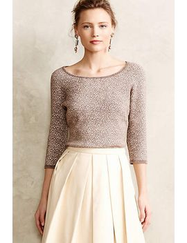 chenille-jacquard-pullover by anthropologie