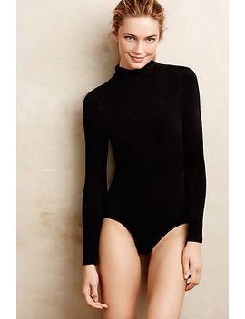 turtleneck-shapewear-bodysuit by anthropologie
