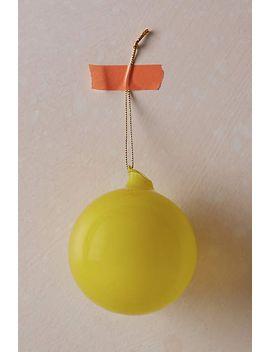 bubblegum-ornament by anthropologie