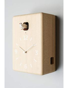 carved-cuckoo-wall-clock by yuichi-nara
