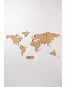 corkboard-map by anthropologie