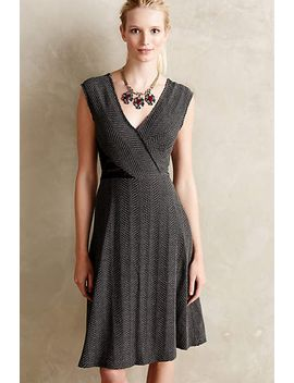 laced-tweed-dress by anthropologie