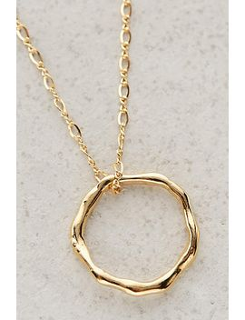 annulus-pendant-necklace by anthropologie
