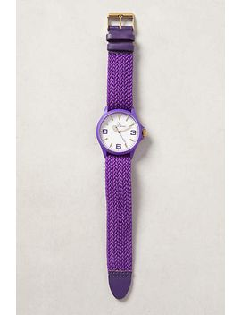 plaited-tropez-watch by anthropologie