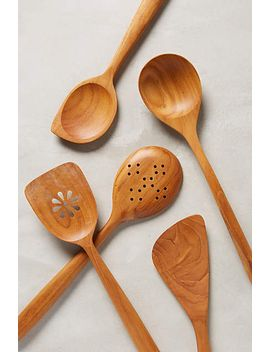 teakwood-utensil-set by anthropologie