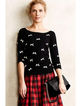 bow-tied-pullover by anthropologie