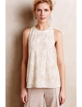 flickered-lace-tank by anthropologie