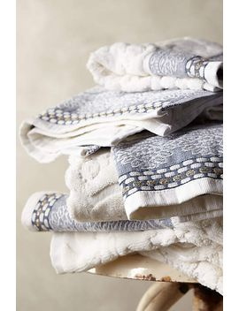 scrollwork-towel-collection by anthropologie
