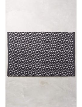pebbled-diamonds-bathmat by anthropologie