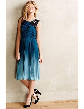 cerulean-depths-midi-dress by yoana-baraschi