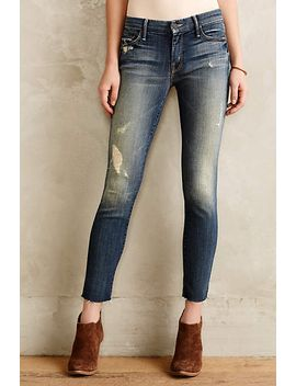 mother-looker-ankle-fray-jeans by anthropologie
