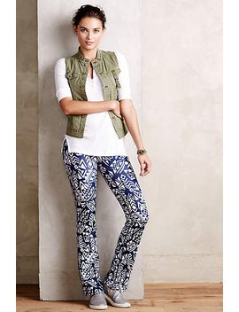 geomaze-yoga-pants by anthropologie