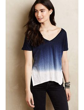 dipped-horizon-tee by anthropologie