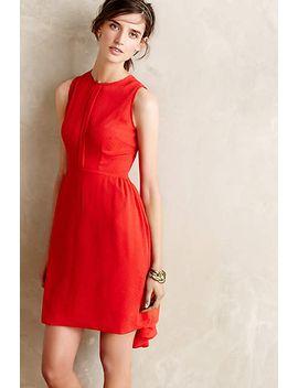 crimson-fizz-dress by anthropologie