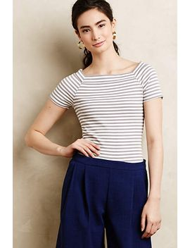 ribbed-scoopneck by anthropologie