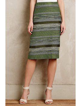 striped-jade-skirt by leifsdottir