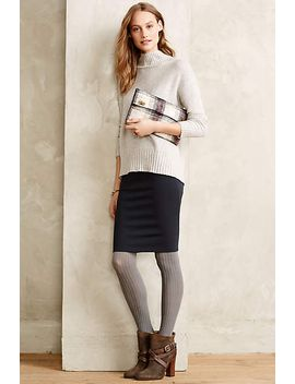 ponte-pencil-skirt by charli