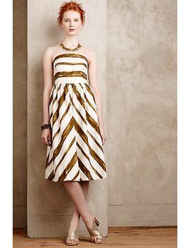 paint-stripe-mini-dress by moulinette-soeurs