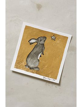 gilded-bunny-print by sullivan-anlyan