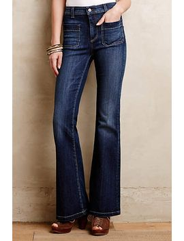 pilcro-superscript-flare-jeans by pilcro