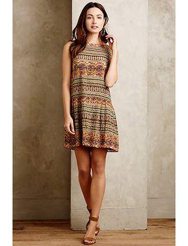 embellished-drop-waist-dress by hemant-&-nandita