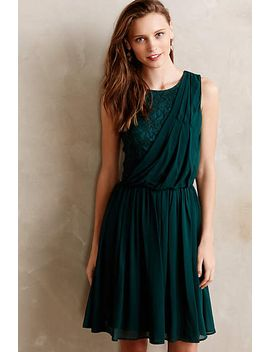 evergreen-draped-dress by beyond-vintage