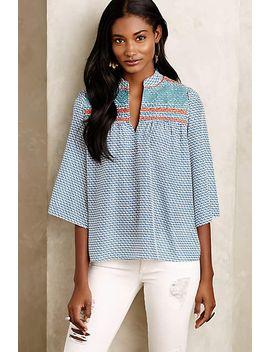 derby-kimono-blouse by maeve