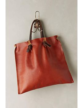 tucked-pinch-pleat-tote by anthropologie