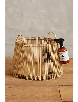 handcrafted-bamboo-basket by anthropologie
