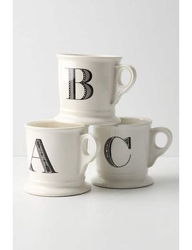monogram-mug by anthropologie
