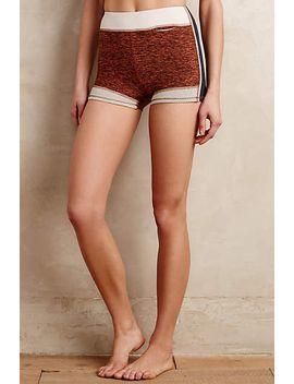 banded-varsity-shorts by anthropologie