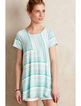 angled-stripe-swing-top by anthropologie